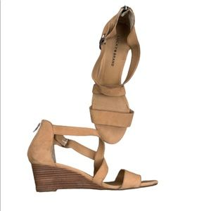 {Lucky Brand} wedged sandle